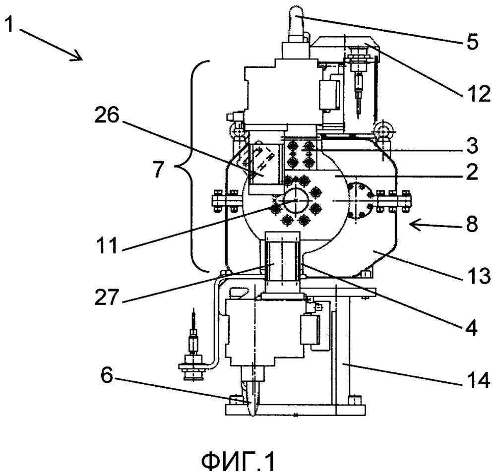 Устройство для позиционирования заготовок для зажимных или центровальных узлов
