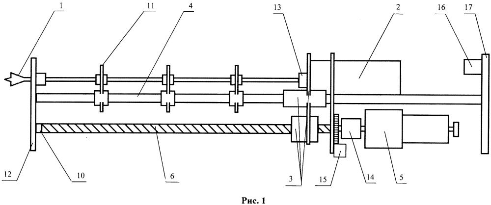 Устройство для измерения сопротивления исследуемого материала сверлению
