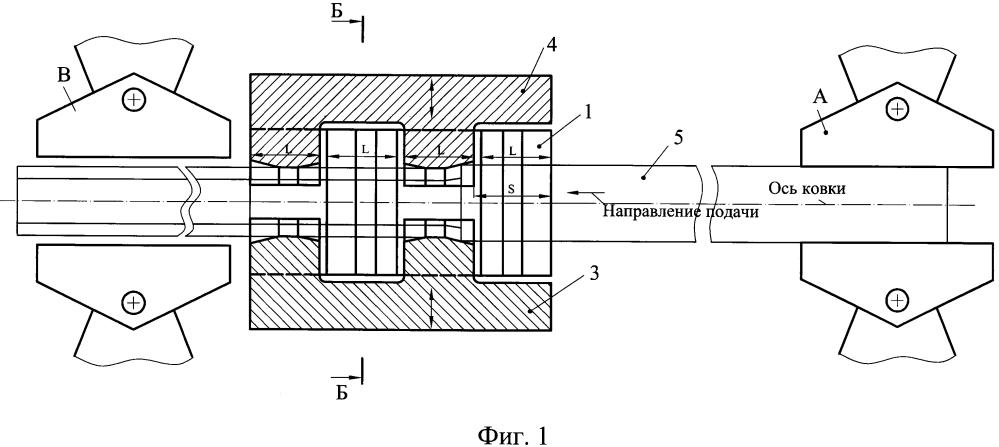 Способ радиальной ковки шестигранных полых профилей