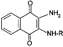 Способ получения 2,3-диамино-1,4-нафтохинонов