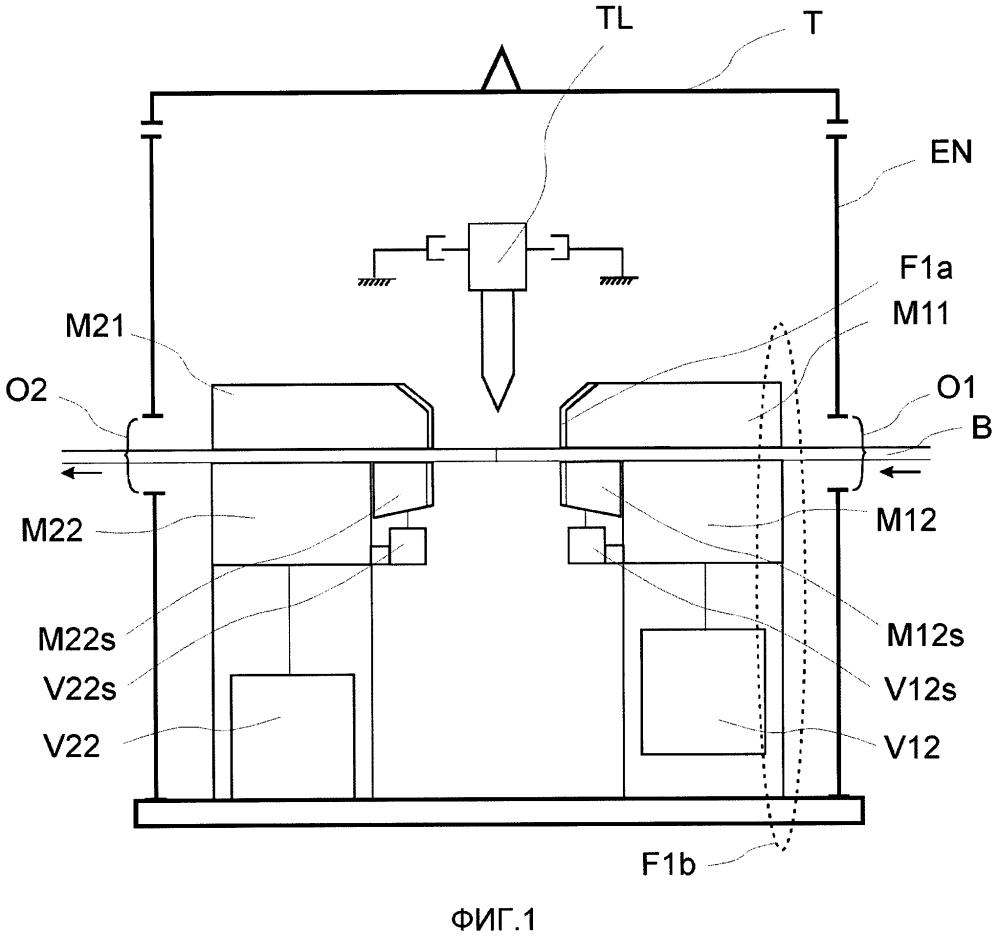 Установка для удержания лазерного излучения в безопасном замкнутом пространстве