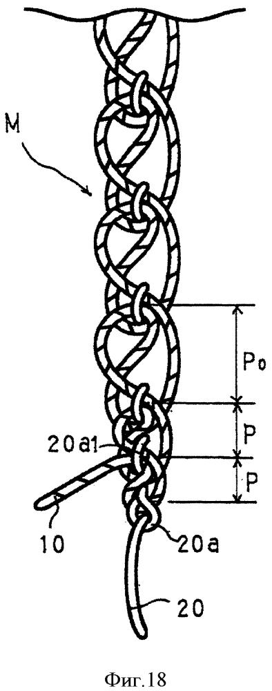 Способ предотвращения распускания шва многониточного цепного стежка, устройство предотвращения распускания шва для швейной машины многониточного цепного стежка и конструкция многониточного цепного стежка