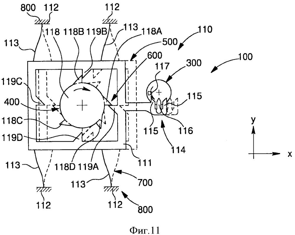 Механизм анкерный гибкий с подвижной рамой