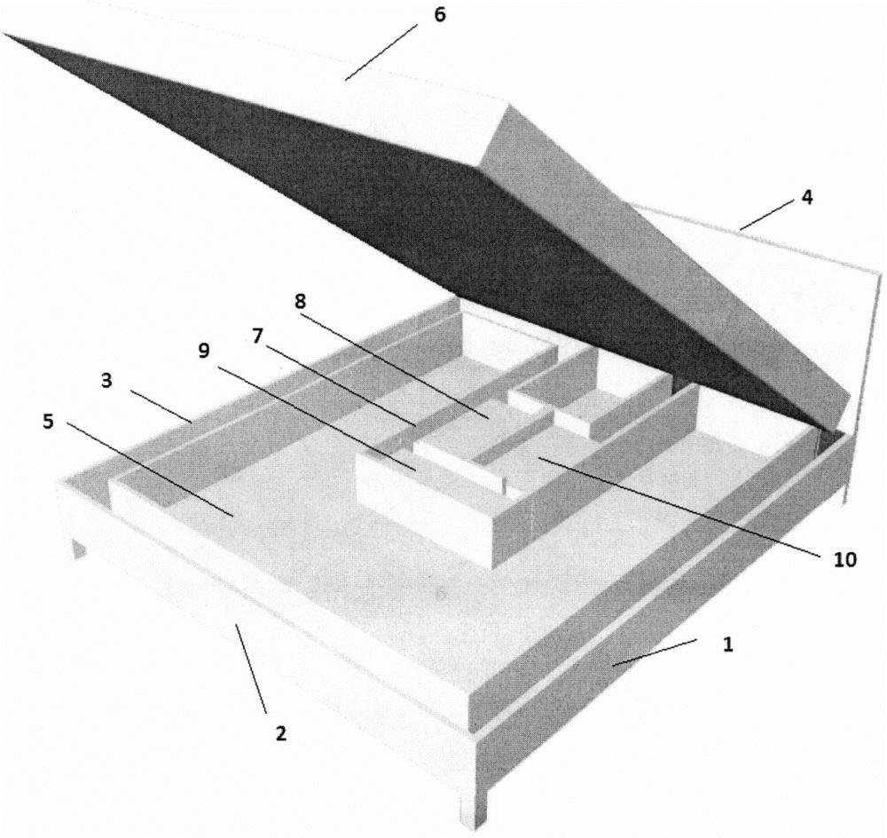 Кровать, обеспечивающая очистку и ароматизацию воздуха