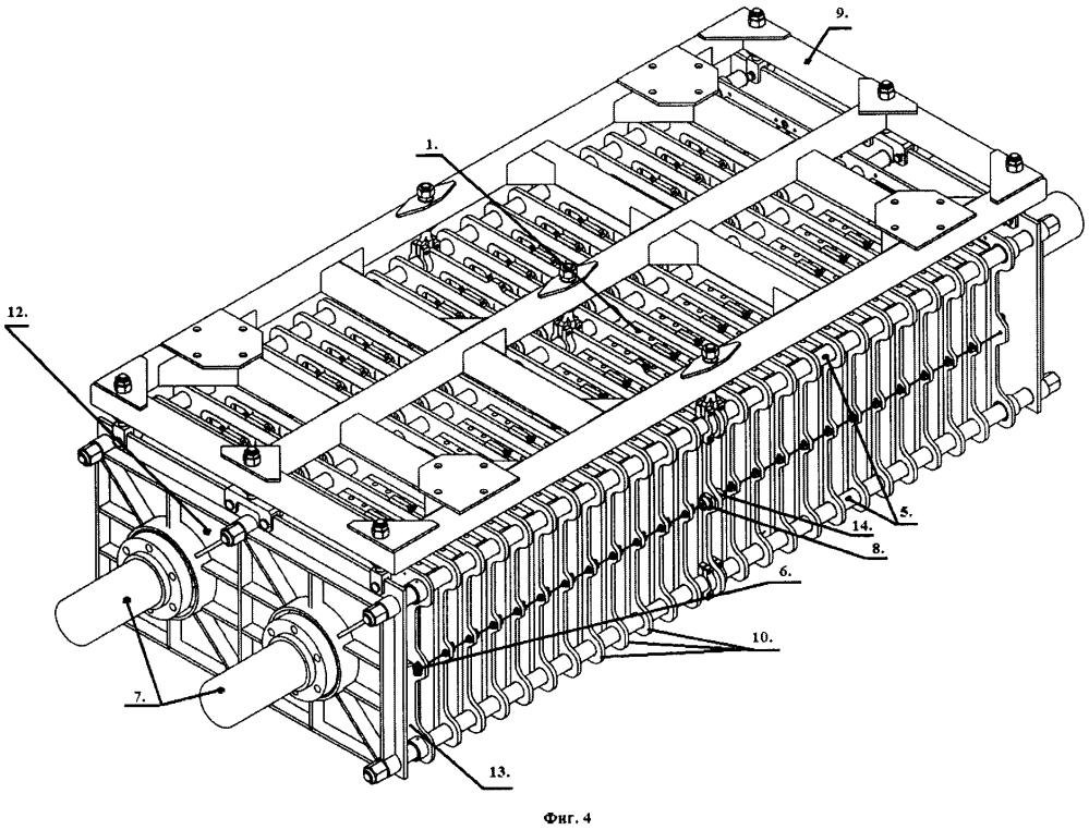Устройство для сушки плит или блоков из гипса или гипсобетона.
