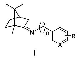 Иминопроизводные камфоры, содержащие ароматический или гетероароматический фрагмент, - ингибиторы репродукции вируса гриппа (штамм a/california/07/09 (h1n1)pdm09)