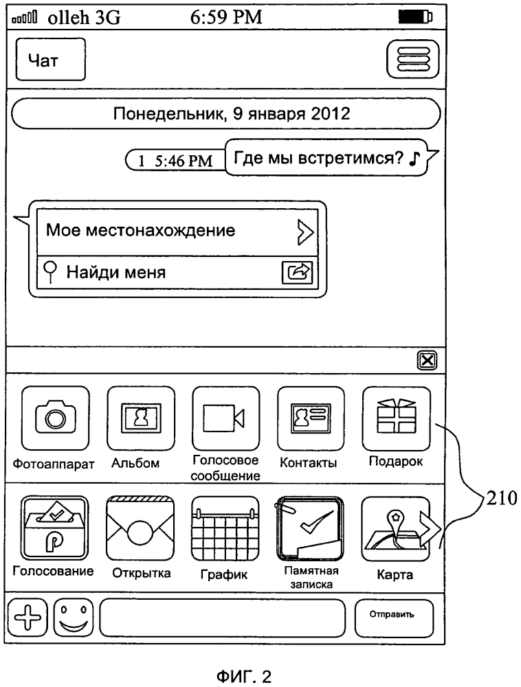Служба мгновенных сообщений и способ предоставления ряда услуг, оказываемых службой мгновенных сообщений