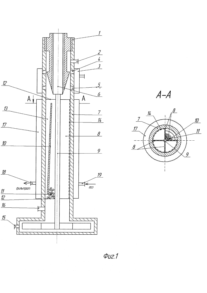 Аппарат для мембранного концентрирования