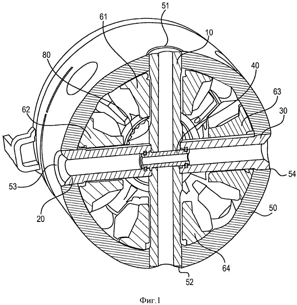 Модульное соединительное звено поперечного вала