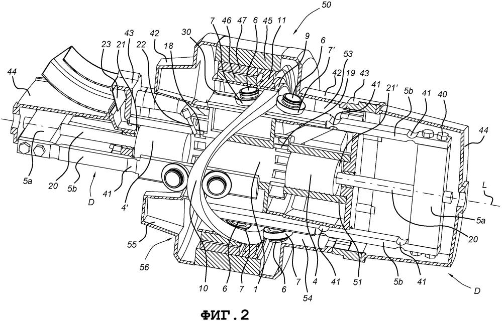 Вращательная система привода, имеющая ролик, работающий от кулачка, со съемной опорой колеса