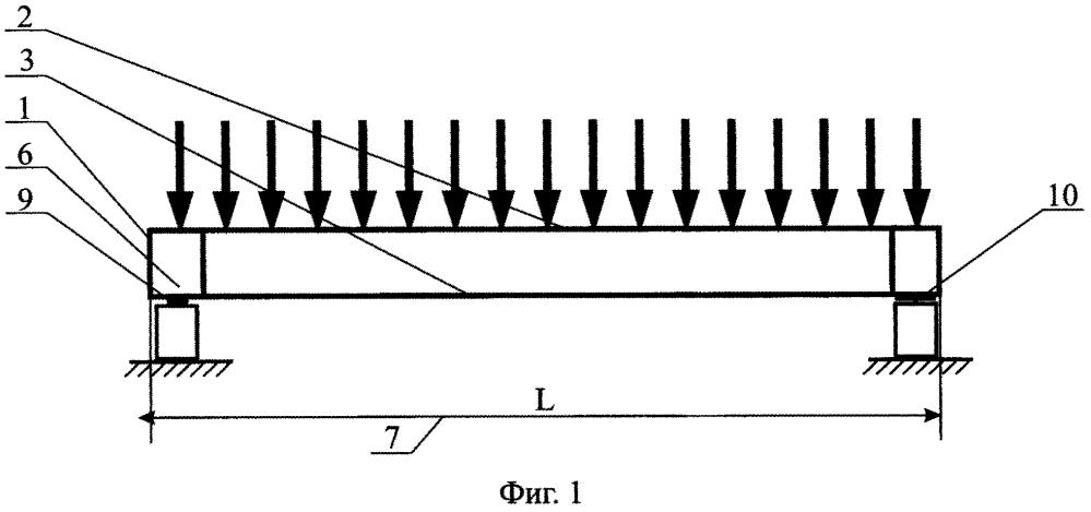 Строительная конструкция типа балки