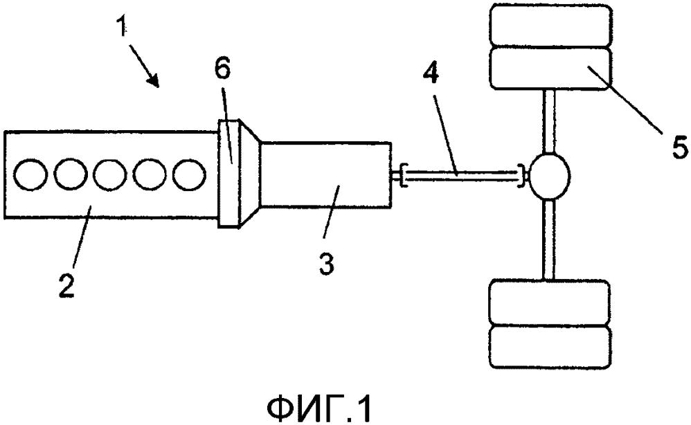 Система привода и способ зарядки аккумуляторной батареи гибридного транспортного средства