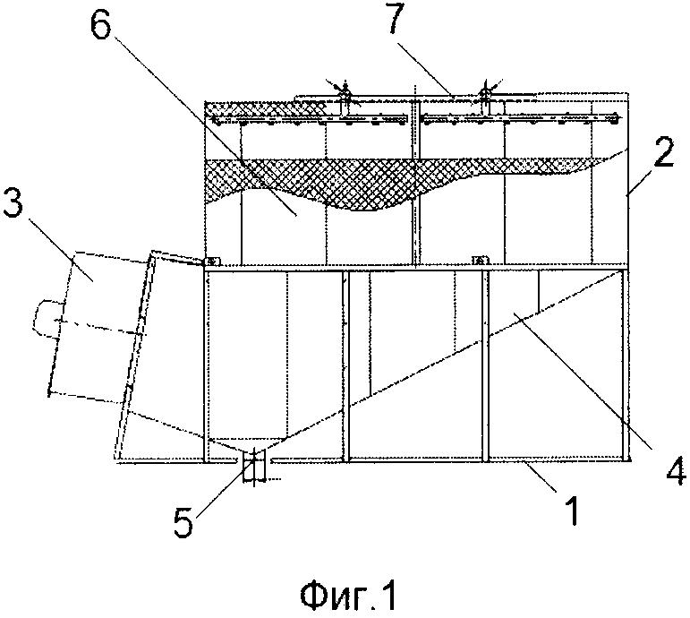 Вентиляторная градирня кочетова с системой оборотного водоснабжения