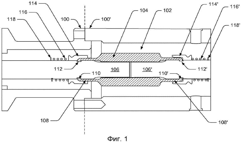 Цанговое соединение для валов электроцентробежных погружных насосов