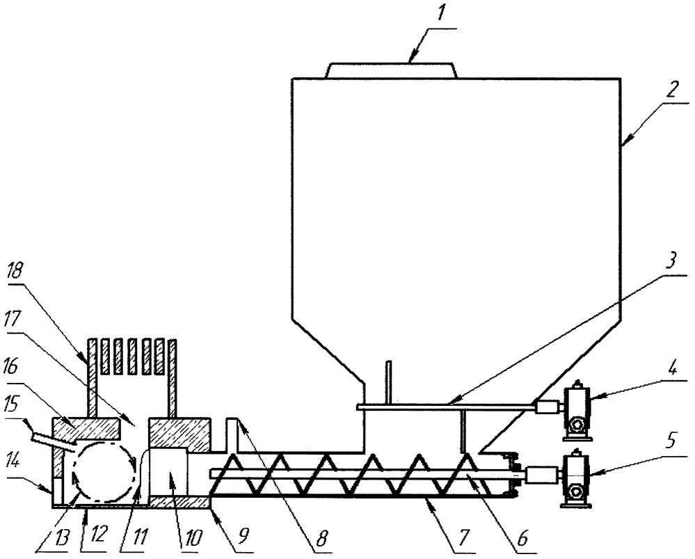 Горелка с высокотемпературной топкой (гвтт)