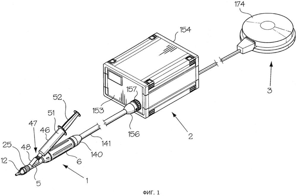 Безыгольное устройство для инъекций в форме стержня