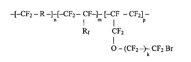Эластомерная композиция на основе бромсодержащего сополимера тетрафторэтилена и перфторалкилвиниловых эфиров