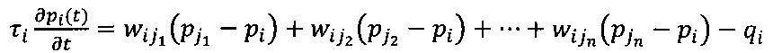 Система определения коэффициентов взаимовлияния скважин