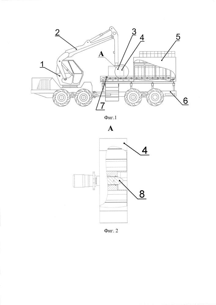 Самоходная машина для посадки саженцев
