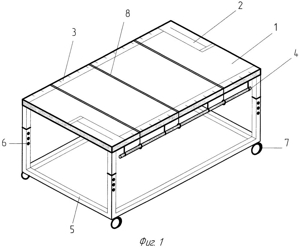Стол сборщика для работы с гибкими печатными кабелями