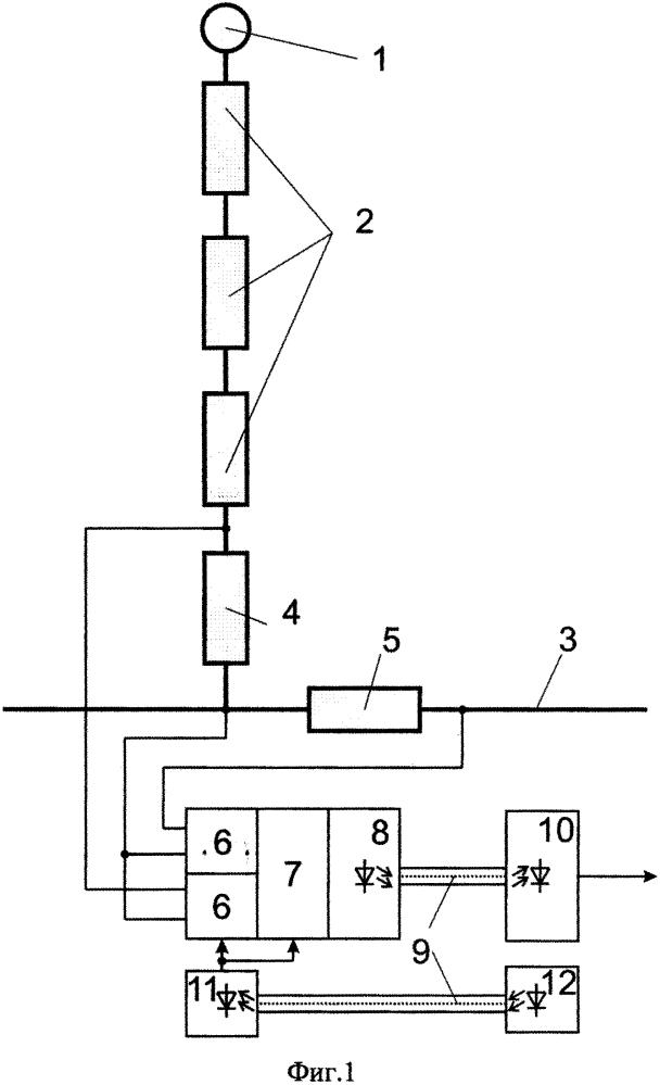 Оптико-электронный датчик тока и напряжения