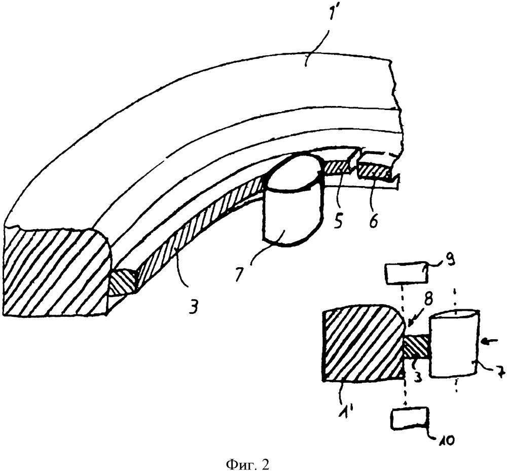 Способ и устройство для измерения непроницаемости просвета поршневых колец (варианты)