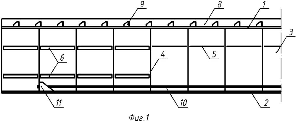 Способ реконструкции и усиления сталежелезобетонного разрезного пролетного строения напрягаемыми канатами