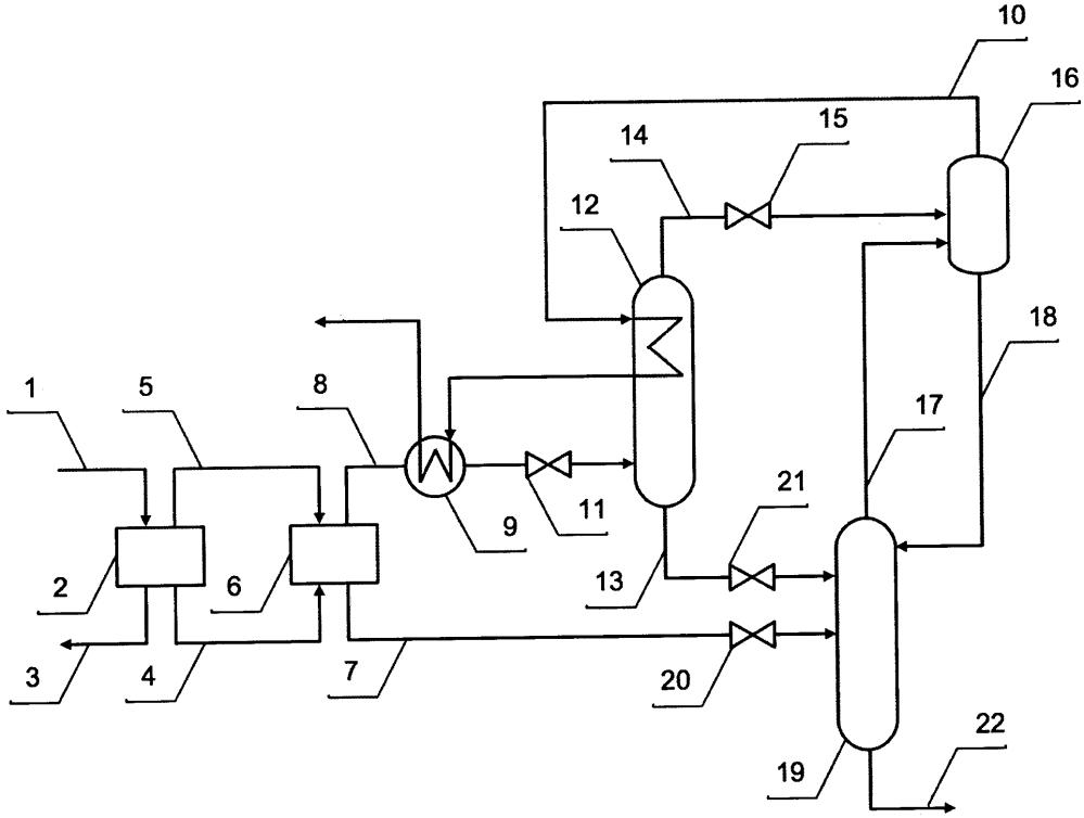 Способ промысловой деэтанизации скважинной продукции