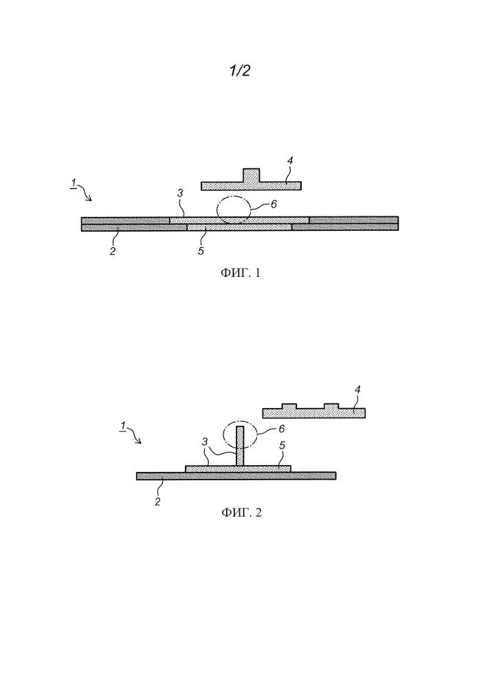 Способ соединения термопластичного полимера с компонентом из термореактивного полимера
