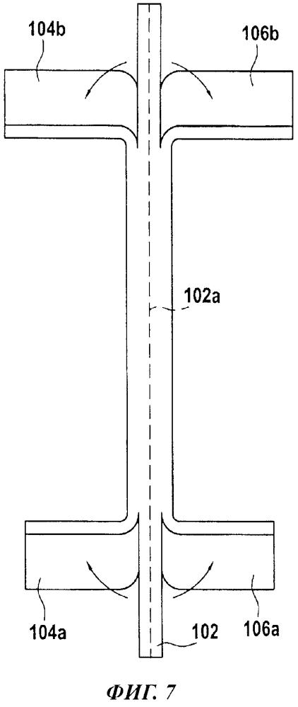 Способ изготовления композитных лопаток турбинного двигателя со встроенными полками