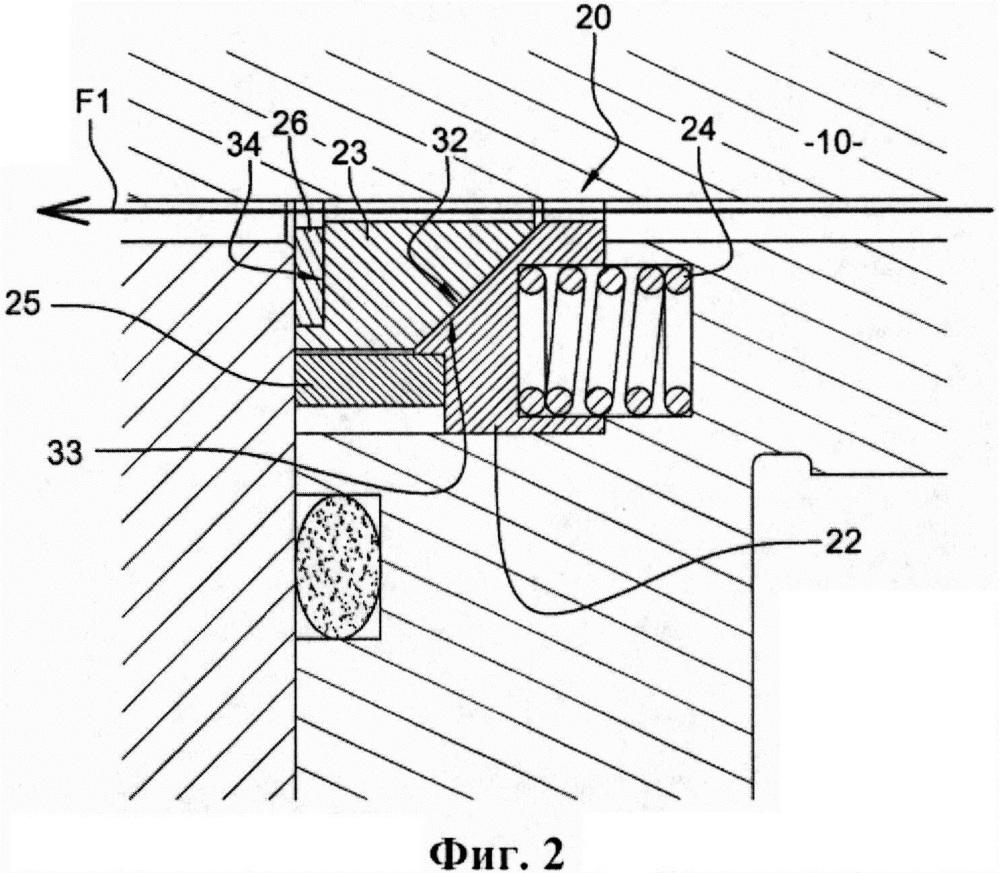 Пассивное запирающее уплотнительное устройство для системы уплотнений вала блока главного циркуляционного насоса реактора
