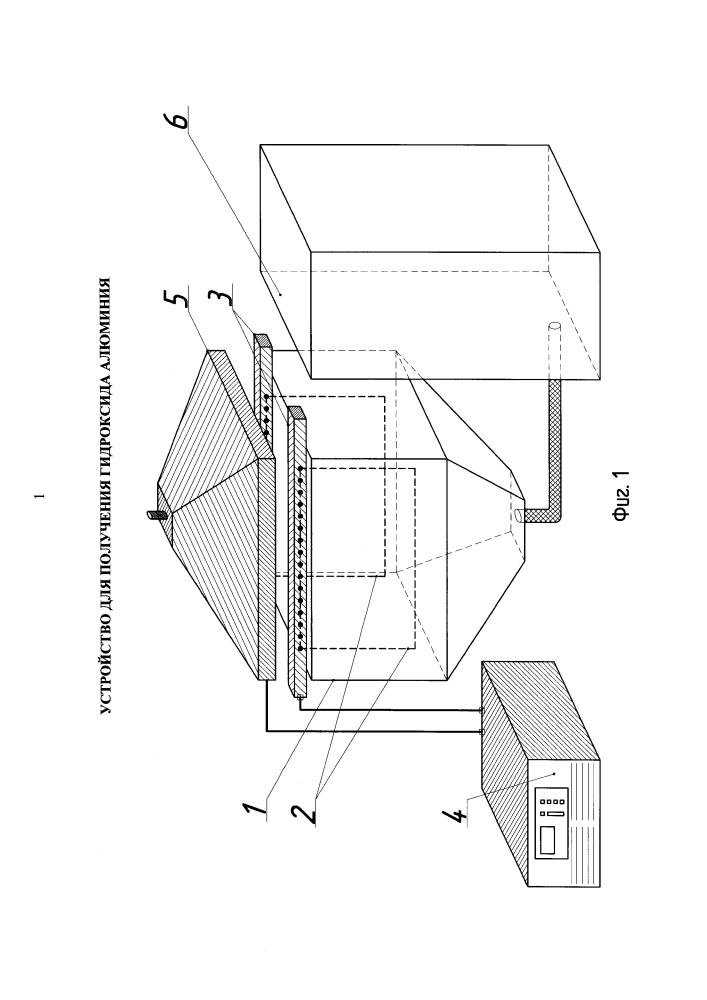 Устройство для получения гидроксида алюминия