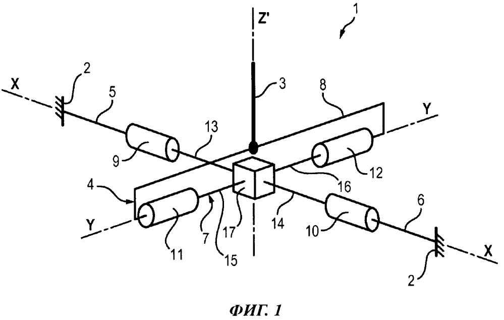 Ручка управления для воздушного судна