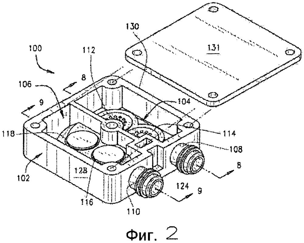 Многоклапанная головка компрессорного устройства