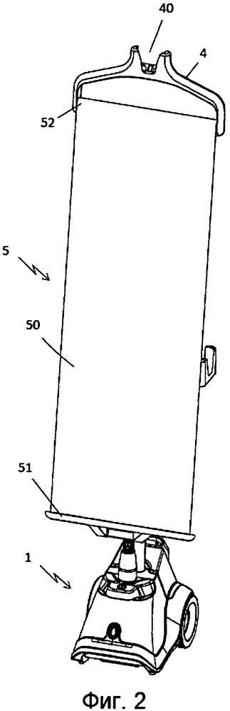 Паровой гладильный аппарат с паровой щеткой