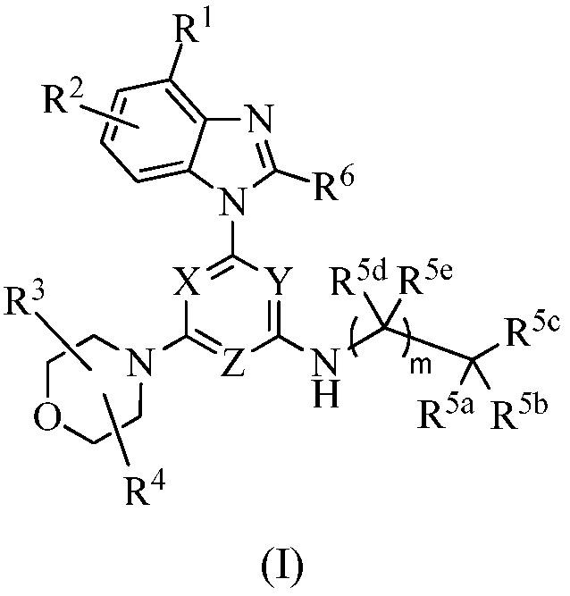 (альфа-замещенные аралкиламино- и гетероарилалкиламино)пиримидинил- и 1, 3, 5-триазинилбензимидазолы, их фармацевтические композиции и их применение в лечении пролиферативных заболеваний