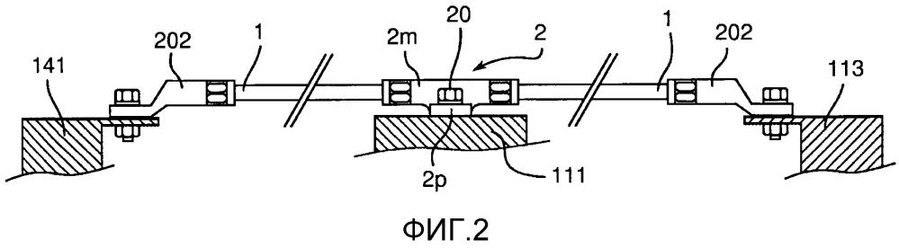 Способ соединения, эквипотенциальный соединительный элемент ответвления и сеть обратного тока с эквипотенциальным соединением в непроводящей конструкции