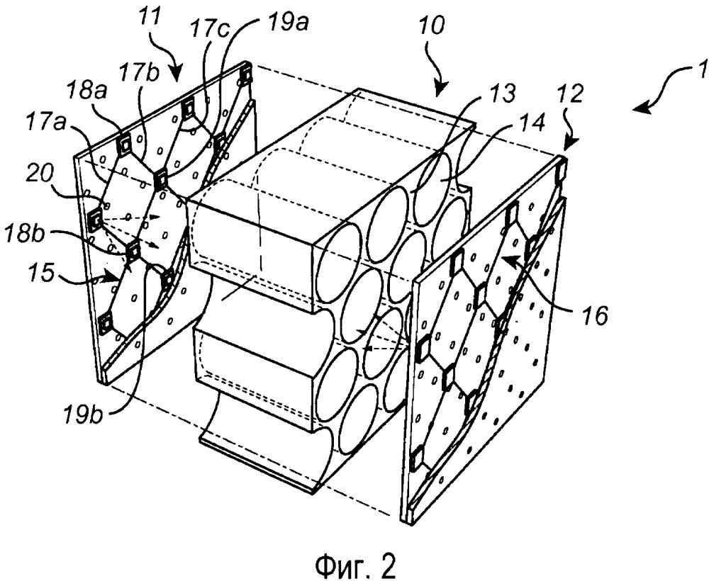 Светоизлучающая панель с прозрачной ячеистой поддерживающей панелью