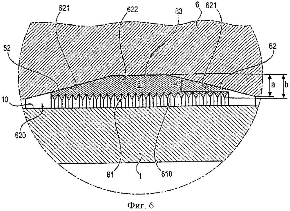 Труба с обжимаемым металлическим элементом и соответствующий способ