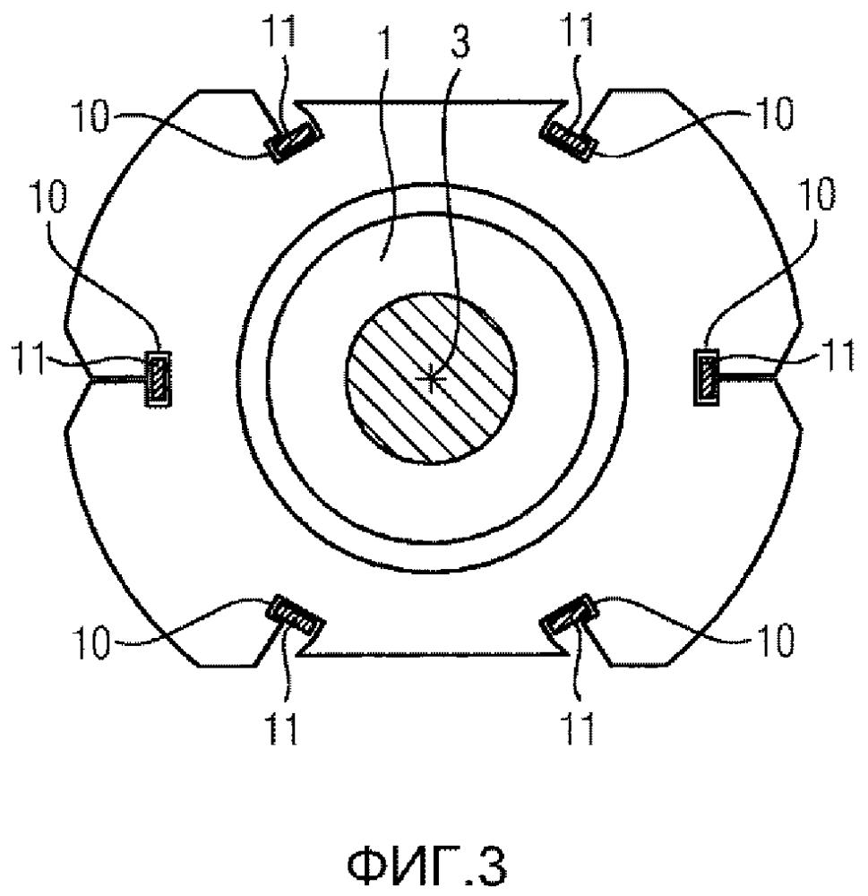 Охлаждаемая воздухом электрическая машина с ребрами охлаждения из статорной листовой стали