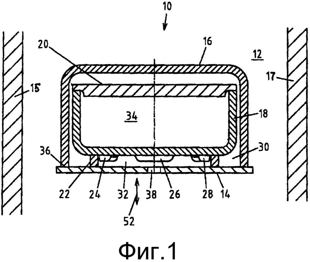 Устройство и способ спекания спекаемого материала