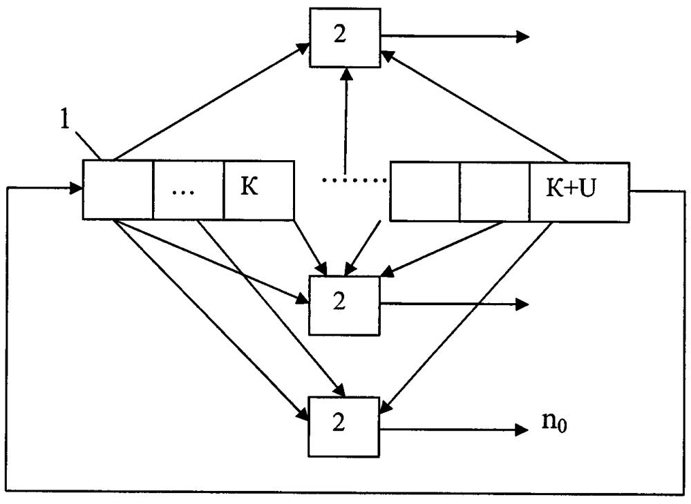 Способ кодирования и декодирования блокового кода с использованием алгоритма витерби