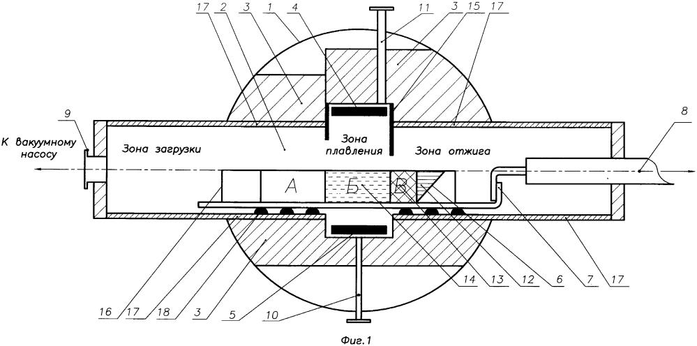 Устройство для получения монокристаллов тугоплавких фторидов