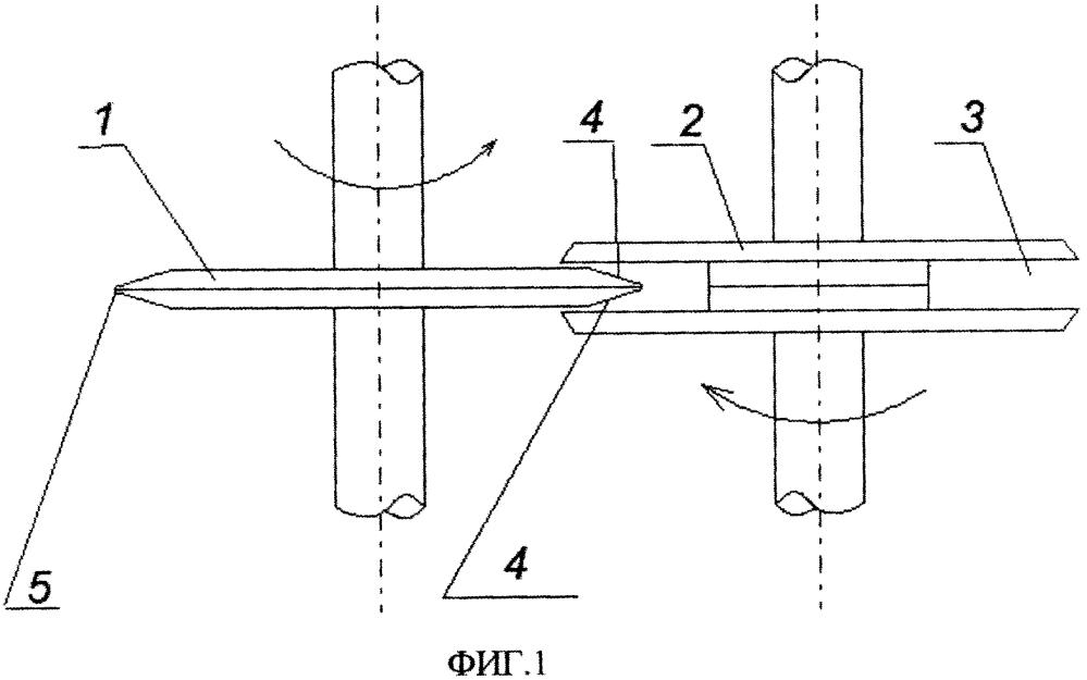 Способ переработки изношенных шин в дисперсный материал
