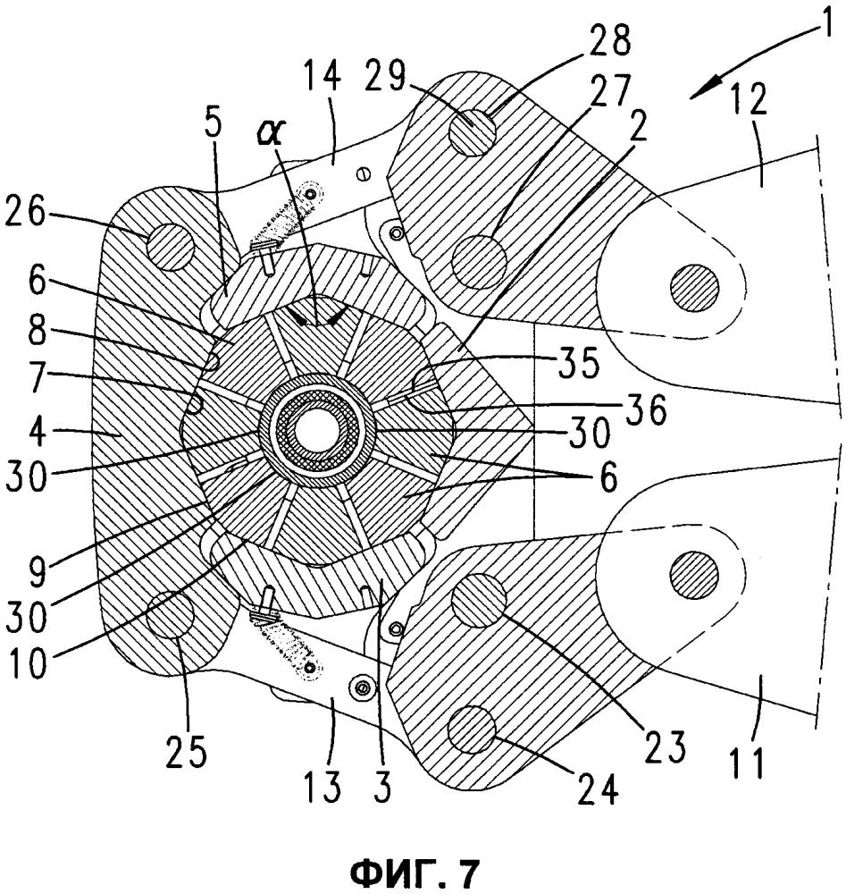 Цепное прессовальное устройство, способ запрессовки трубчатой или шланговой детали и опрессовочная цепь