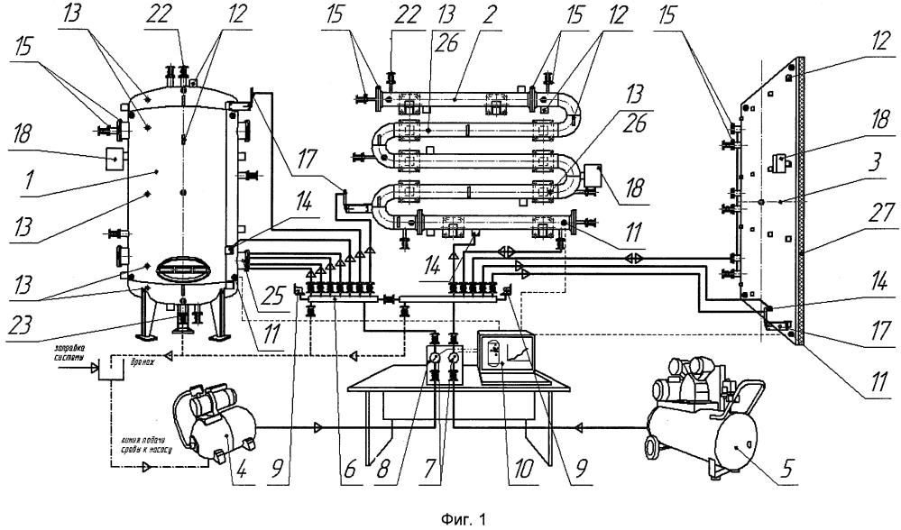 Универсальный учебно-исследовательский стенд изучения генерации и распространения акустических волн в элементах промышленных объектов от имитаторов реальных источников акустической эмиссии