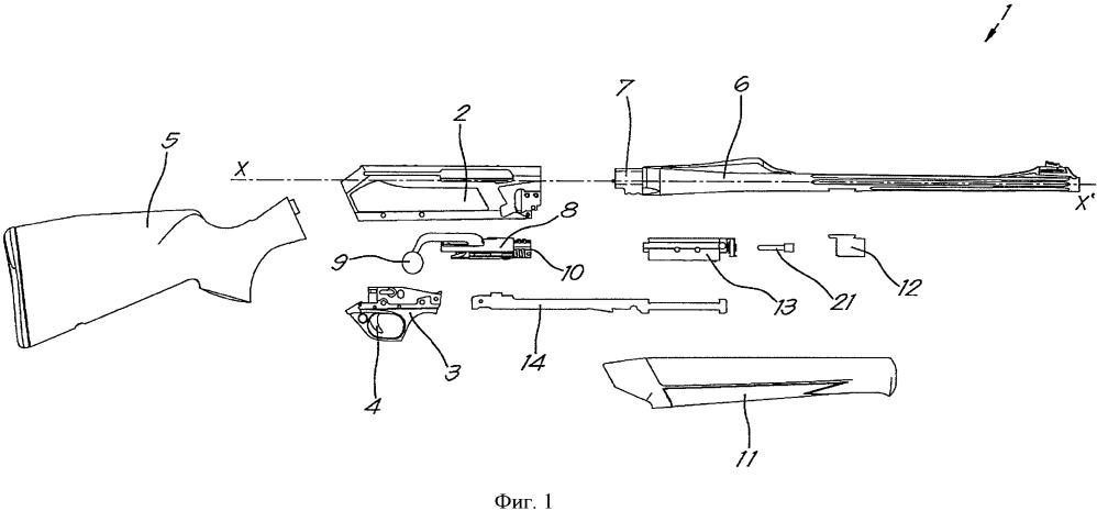 Огнестрельное оружие с улучшенным перезаряжанием