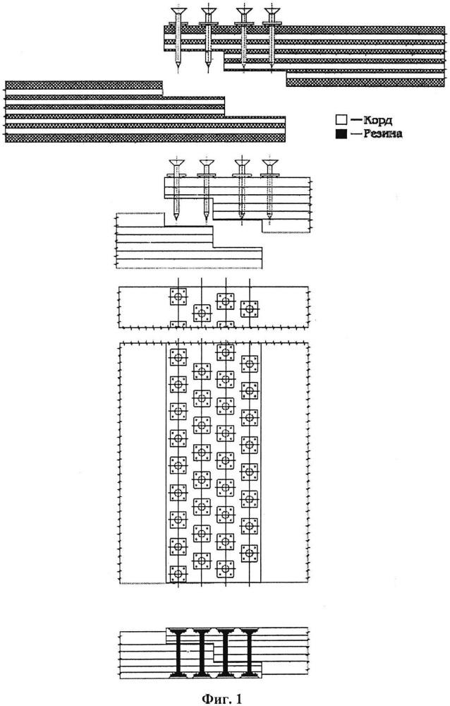Способ механического соединения резинотканевых конвейерных лент