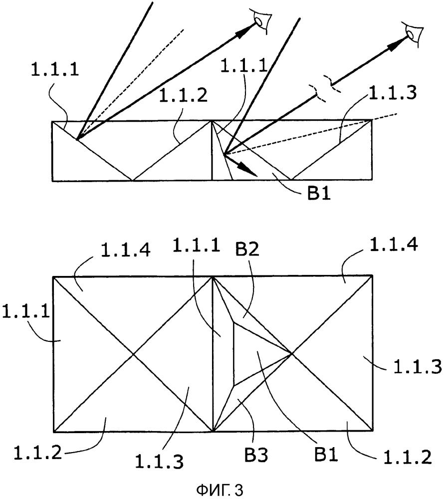Объект, содержащий область его поверхности, подходящую для показа множества изображений