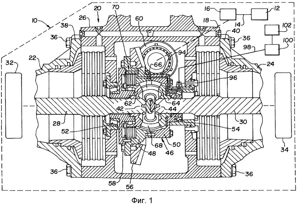 Система эффективного охлаждения узла самоблокирующегося дифференциала